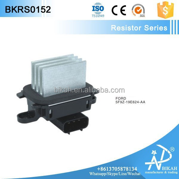 Blower Motor Regulator for F ord 5F9Z-19E624-AA, 7C3Z-19E624-A, 7C3Z-19E624-B