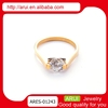 Top latest design 2014 trendy ring zicron rings for women customized