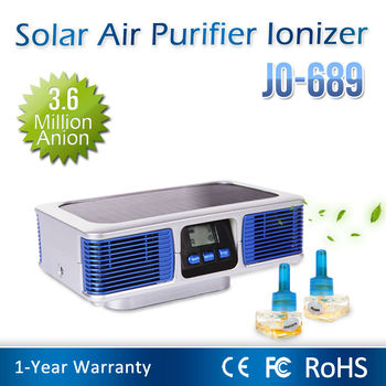 Latest Innovative Solar Product (Car Air Purifier With 3,600,000pcs/cm3 Anion)