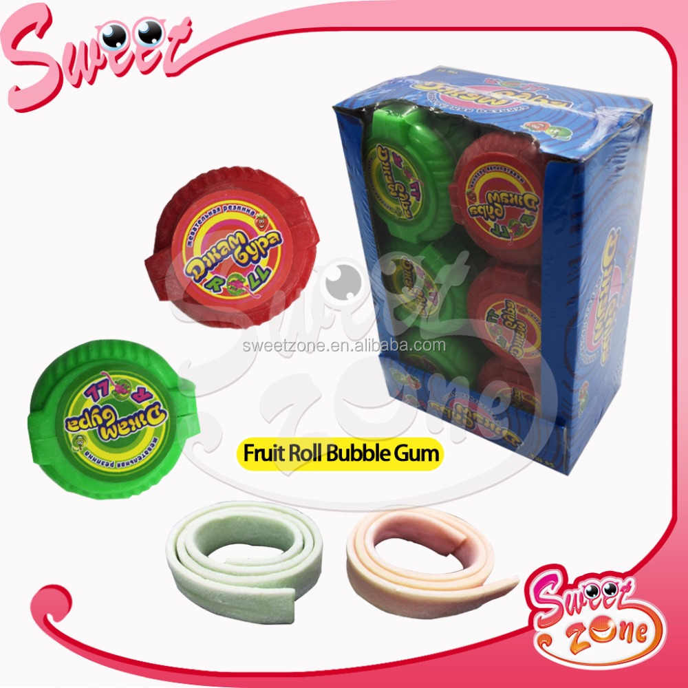 Fruit Roll Bubble Gum Xanthan Gum