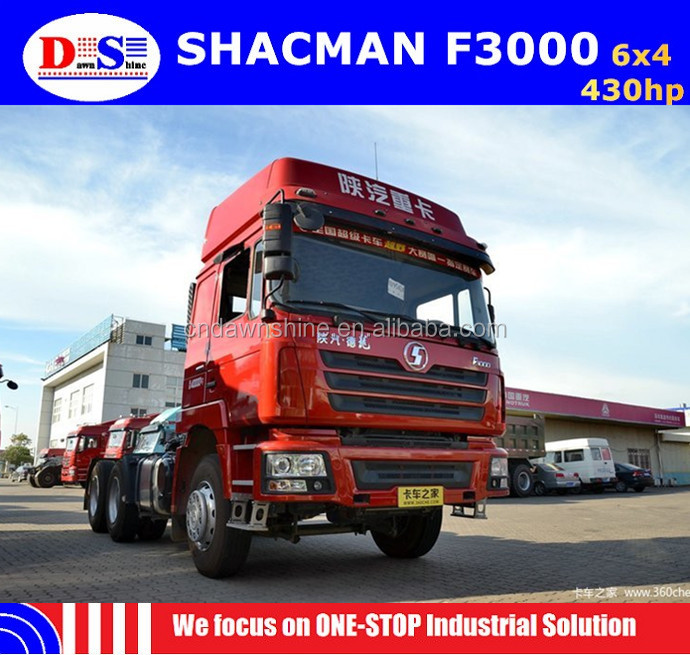Brand New Shacman 6x4 430hp Tractor Truck