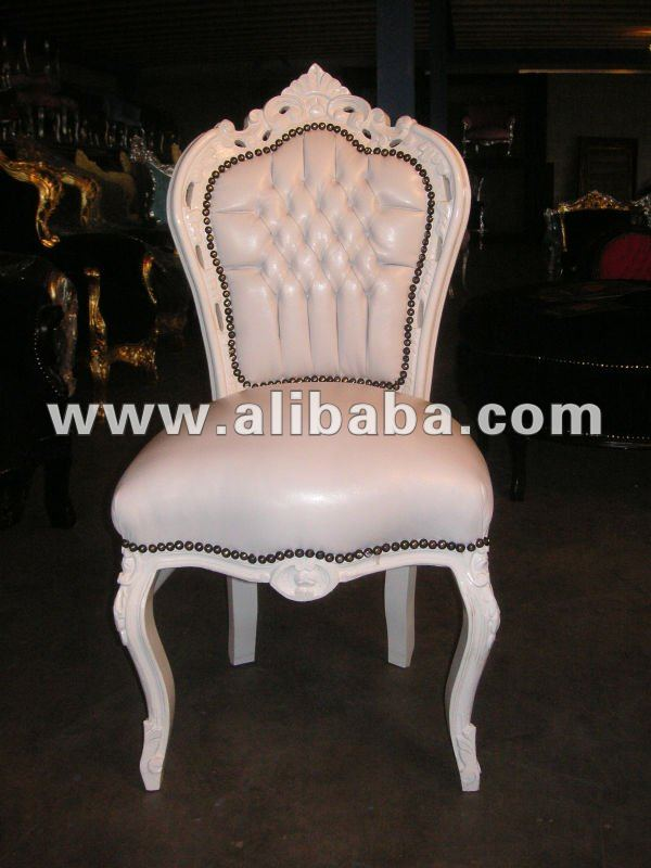 Chairs Ultra Neo Rococo Modern Silver Baroque Furniture