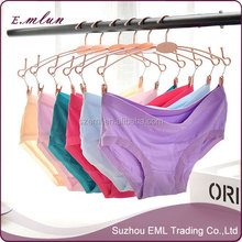 wholesale hot single lovely lady's bamboo fiber briefs