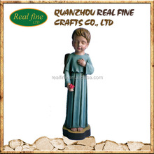 New product wholesale Polyresin Praying Angel figurine