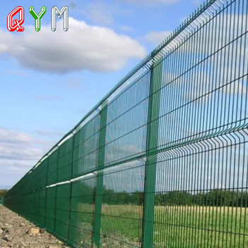 Galvanized Welded Wire Mesh Fence Metal Fence Factory
