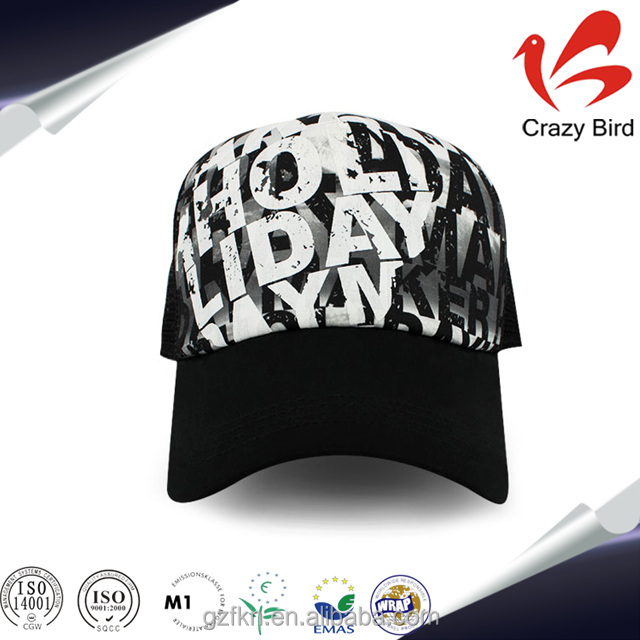 wholesale new style custom hat and cap custom letter