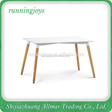 For Sale Wooden Legs MDF Top Square Dining Table