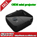 2014 new arrvial catch market 160LM LCoS RGB LED mini projector P809c