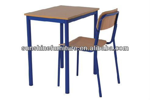 used school desk chair/school single desk and chair/cheap school desk and chair