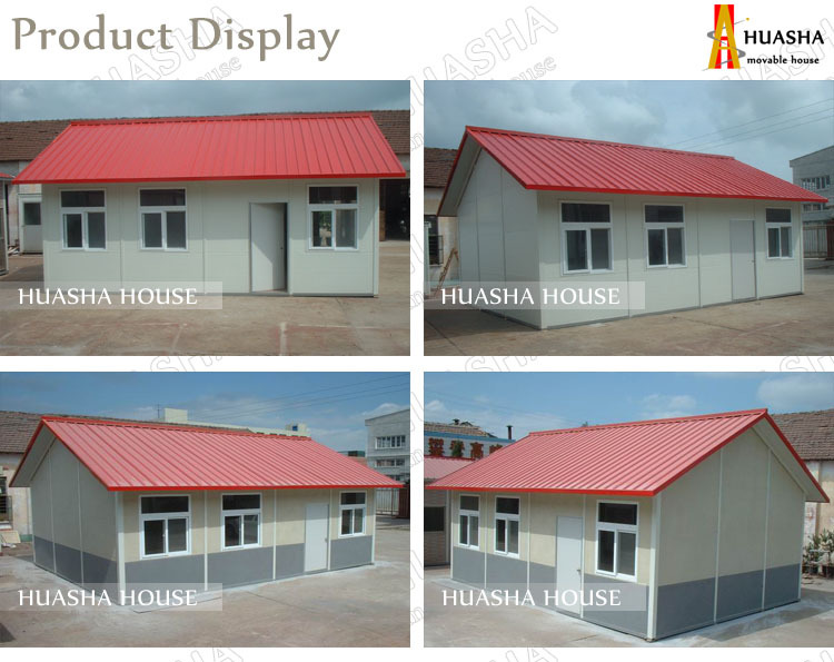 China factory high quality prefabricated small house plans designs