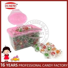 Center Filled Fruit Flavor Hard Candy