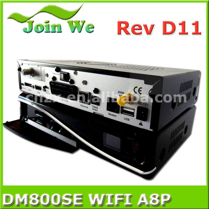 Wifi Sim A8P DM800se hd pvr Satellite Receiver sunray 800hd se sim a8p wifi decoder enigma 2 set top box