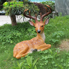 Wholesale new product animal shape outdoor polyresin garden decoration