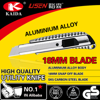 Aluminium Alloy18mm blade multifuction tool knife cutting knife