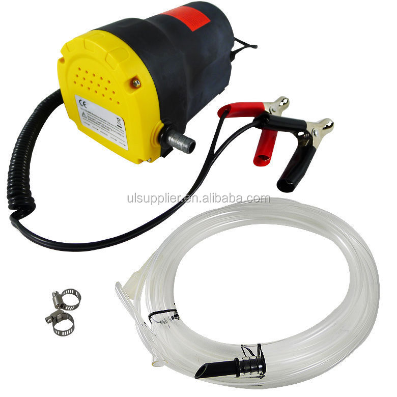 S00365 2V 5A Oil/Diesel Fluid Extractor Electric Transfer Pump For Car/Motorbike