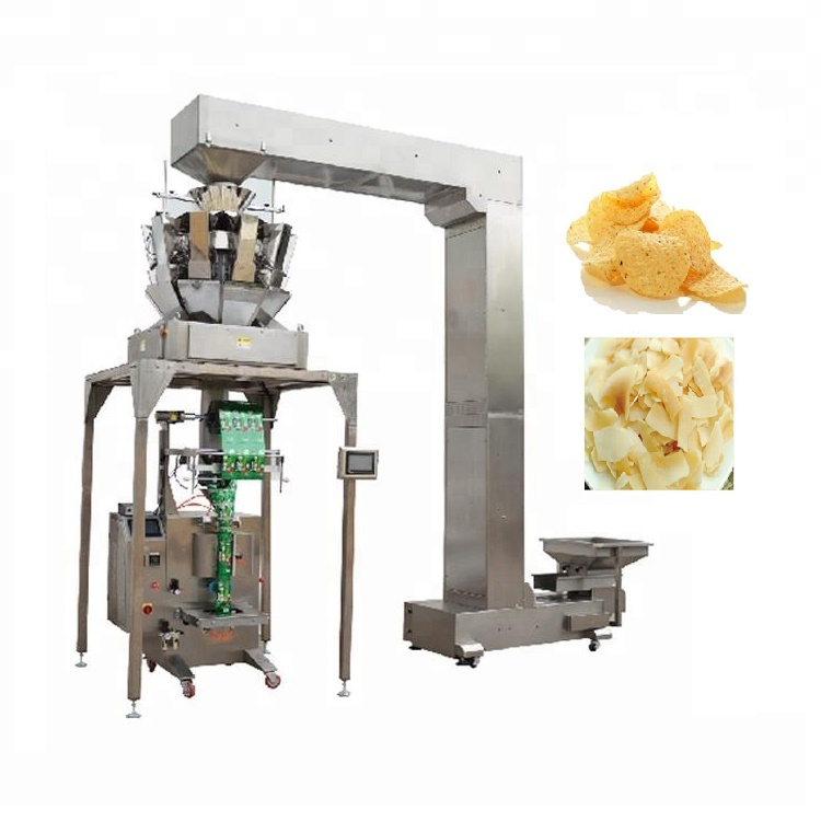 New design YB-<strong>Z10</strong> Automatic 10 head weigher cat litter packaging frozen dumplings fruits seeds packing machine