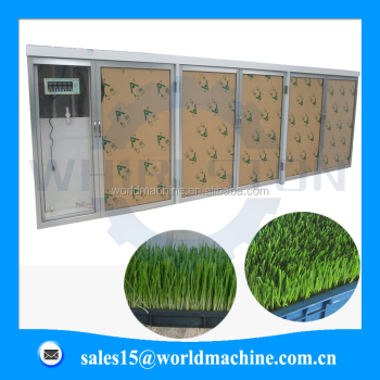hydroponic barley sprout system/barley grass grow machine