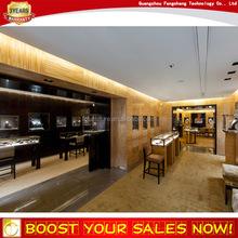 Popular MDF wooden curved glass acrylic display counters for jewelry shop display cabinet furniture