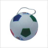 Mini Stress Ball Polyurethane Foam Football / PU Soccer Ball