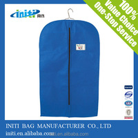 Cheap Wedding Dress Garment Bag Wholesale non woven clear garment bags with packaging plastic hook