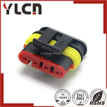 AMP Tyco Auto 4 way electrical waterproof female connector