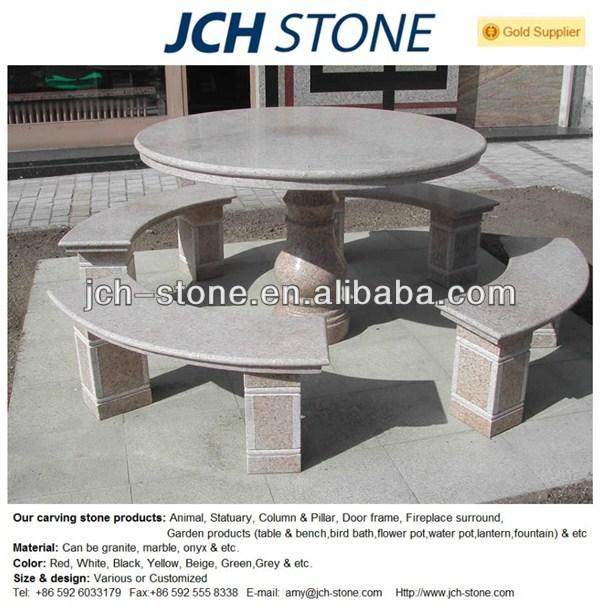 garten steintisch und baenke granit tisch buy granit. Black Bedroom Furniture Sets. Home Design Ideas