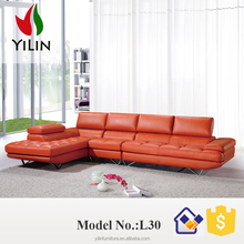European living room furniture,modern design,Italy leather sofa