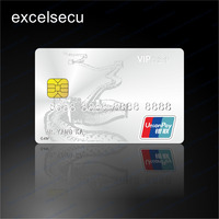 China UnionPay Certificated Contact Gift Blank Visa Cards For Bank