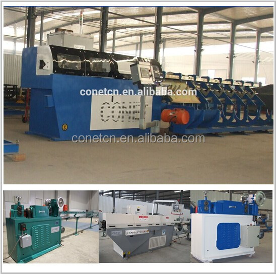 China Leading speed rebar straightening and cutting machine with Max.speed 110m to 139m per min