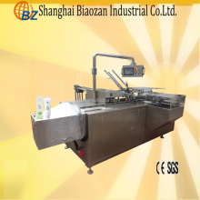 Automatic cartoning packing machine with hot melt glue machine
