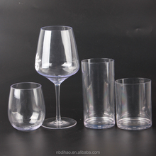 FDA approved and BPA Free Unbreakable Tritan Wine glass