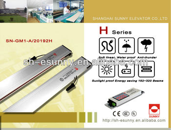 home elevator lift ,elevator light curtain /with UL,CE,CCC safety certificate/historical manufacturer