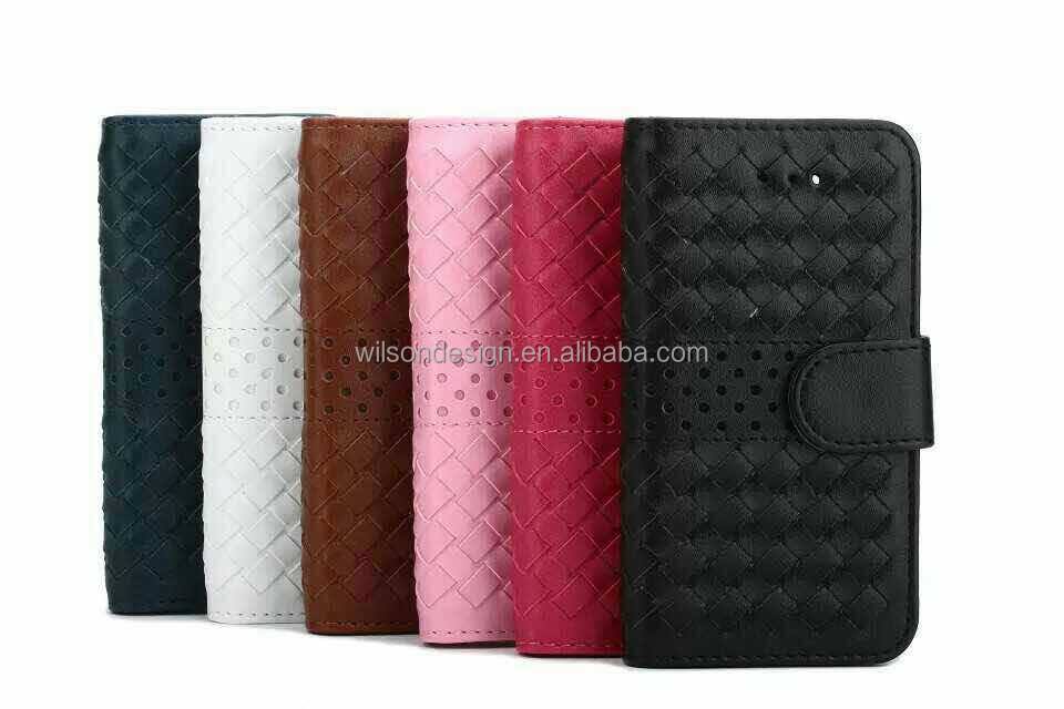flip mobile phone leather case