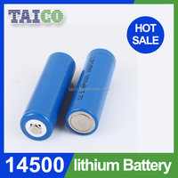 High Quality Lithium Battery 3.2v 500mah ifr 14500 Battery With Long Lifespan