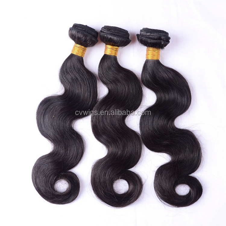 2016 Alibaba virgin ideal tangle free body wave new style crochet braids with human hair