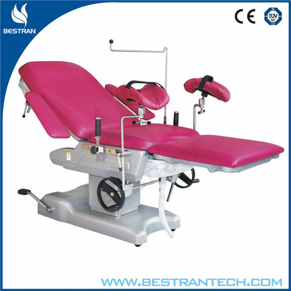 China BT-OE005 PU cushion manual hydraulic urology operation table delivery gyn exam table price