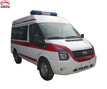 China Factory directly sell High Roof ICU Ambulance car