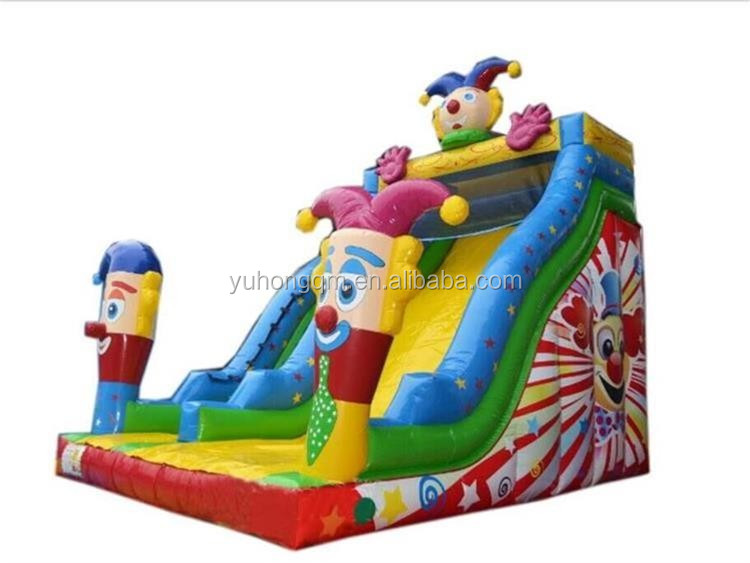 inflatable slide new design/giant bounce inflatable slide with good price and high quality