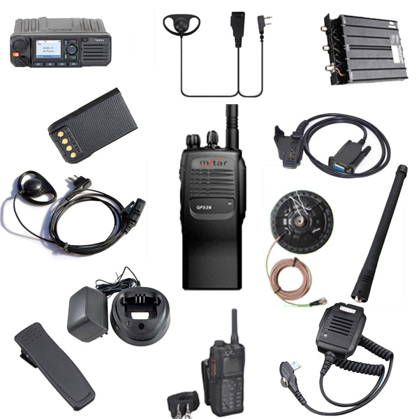 Wholesale protective earplugs Y1 general headset waterproof and dustproof walkie talkie earphones