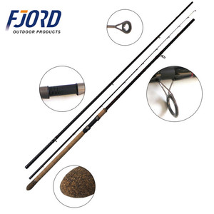 FJORD OEM top quality with good price 3 + 3 section mix carbon feeder fishing rod