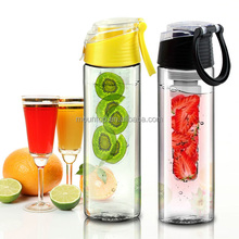 2015 customize and wholesale iced tea infuser pitcher, acrylic iced water bottle, as seen on tv