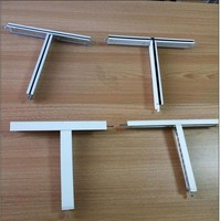 aluminium ceiling frame and ceiling tiles t bar suspended ceiling grid
