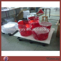 Wholesale Comfortable High Quality Lovely/Funny/Comfortable Red Acrylic Pet Bed/Dog Bed/Cat Bed