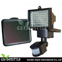 high power portable solar security sensor motion outdoor led lights