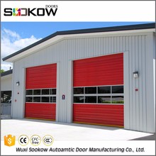 Wholesale insulated sectional commercial double steel doors
