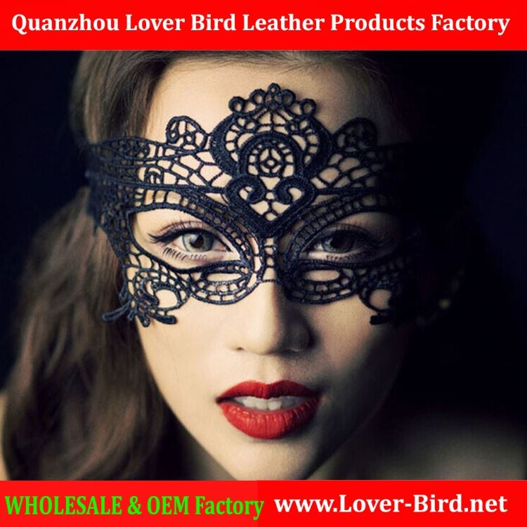 11.11 Adult Games Sex Black Lace Mask Eyes Sexy Lady Hollow Out Half Face Masquerade Party Masks for Women Sex Products