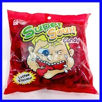 Super sour bombs candy names with individual packing