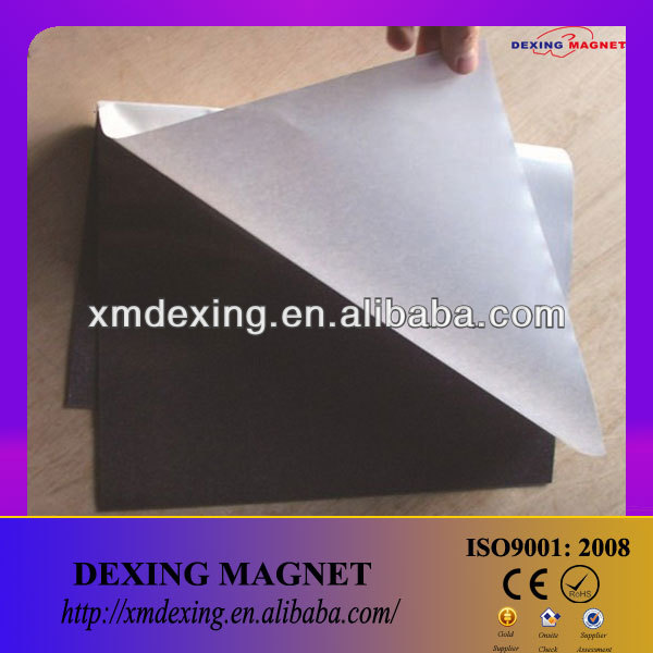 a4 magnet sheet with self adhesive/double sided adhesive magnetic sheets