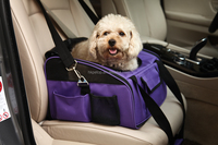 Collapsible dog Booster car Seat pet carrier bag
