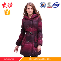 Dayu designed winter jackets mens down jacket duck down coat for women